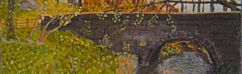 Bridge at Corfe by Stephen Cowell