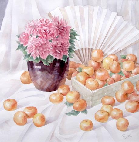 Mandarins by Amy Lee