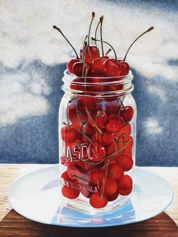 Orchard House Sour Cherries by Jan Crawford