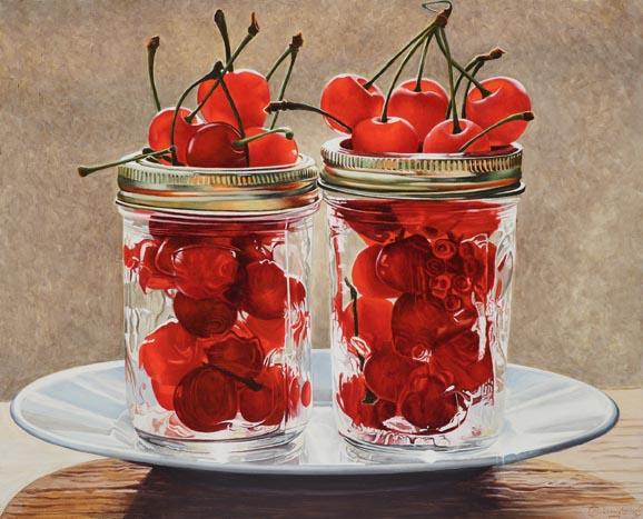 West Bench Cherries by Jan Crawford