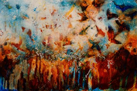 Birds in Flight by Fran Alexander