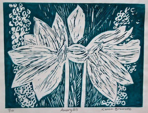 Amaryllis by Karen Brumelle