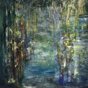 Monet Tribute 3 by Sue Daniel