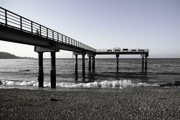 Pier by Jim Friesen