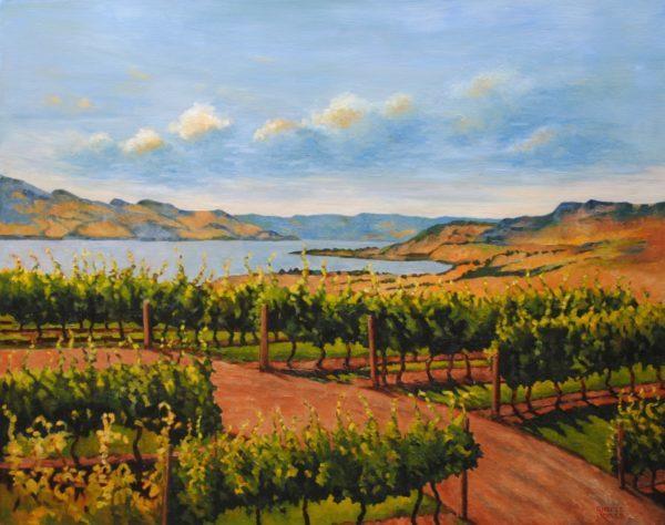 Okanagan Vineyards by Sheree Jones