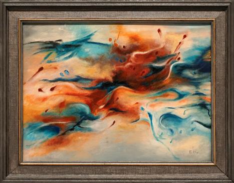Abstract II by Elizabeth Kozlowski