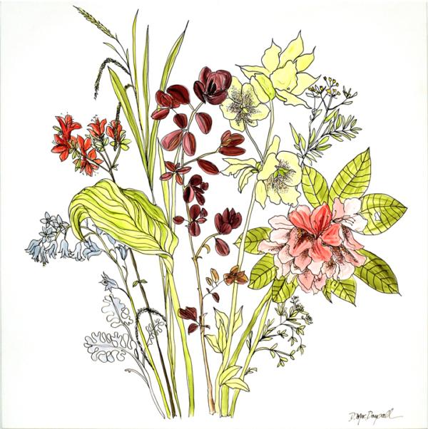 Laneside 2 by Doris MacDougall