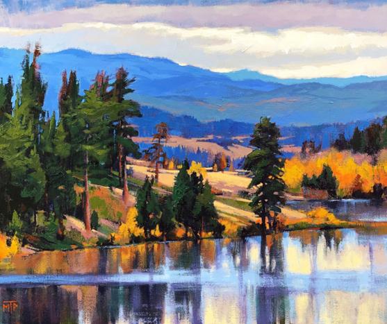 Evening on the Lake by Tatjana Mirkov-Popovicki