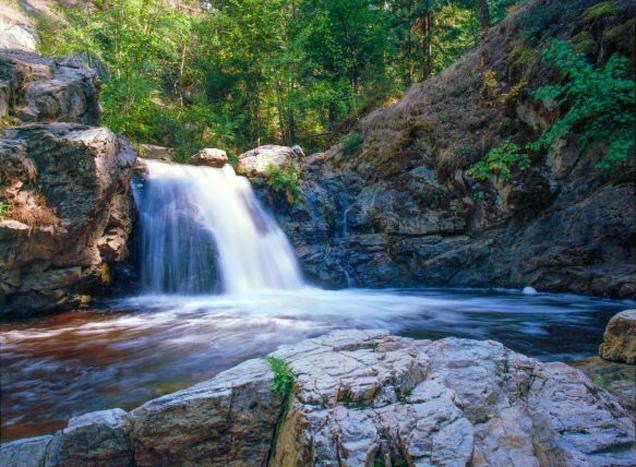 Waterfall by Kris Rasmussen