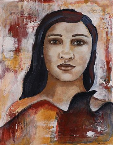 Raven Woman by Melanie Rivers