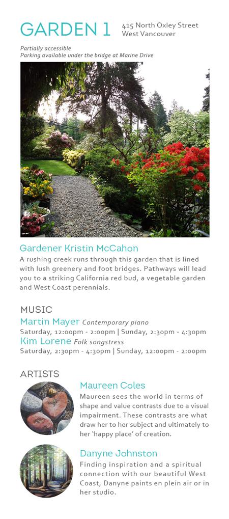 Art in the Garden 2019 Event Details | North Van Arts