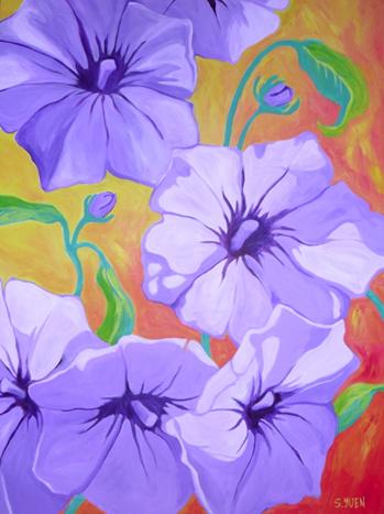 Flower Power by Sandra Yuen