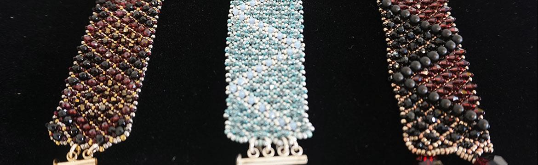 beaded jewellery by Lisa Enquist