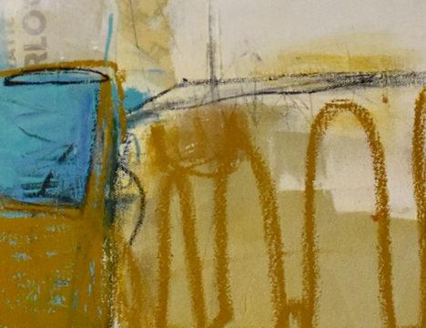 Vespa by Janic Beaudoin (detail)