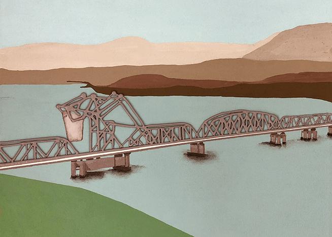 First Second Narrows Bridge by Lorena Krause