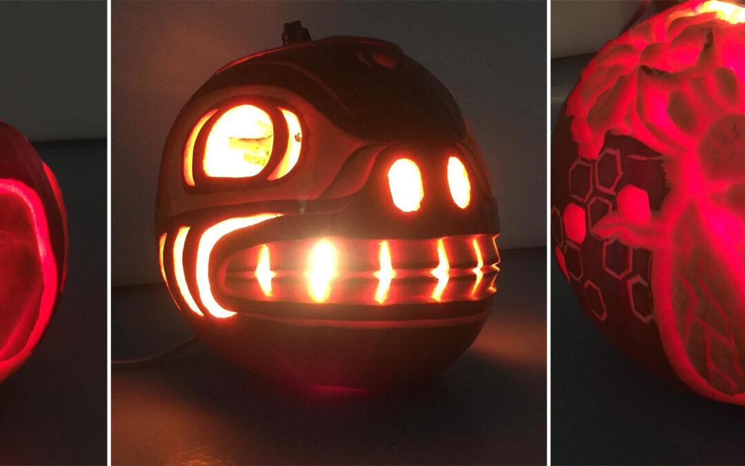 Extreme Carved Pumpkins