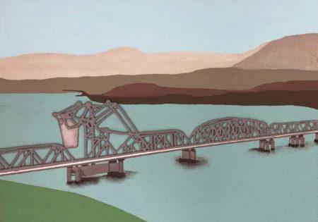 Second Narrows Bridge by Lorena Krause