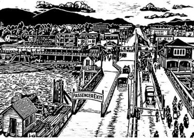 Lonsdale Ferry (detail) by Rick Herdman