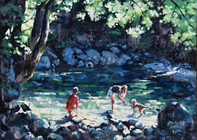 30 Foot Pool, Lynn Creek by Dominique Walker