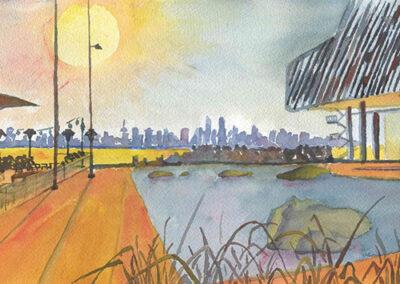 Hot Sunny Lonsdale by Sahar Banisoltan