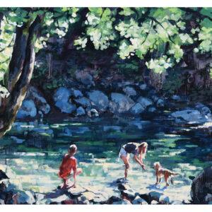 YAH2022 30 Foot Pool, Lynn Creek by Dominique Walker front