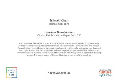 YAH2022 Lonsdale Skateboarder by Ishrat Khan card back